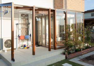 U様邸② | 「らぼっと・わーくす」は京都,滋賀,大阪のエクステリア、ガーデニングを中心に外構・お庭工事のデザイン、設計、施工管理を一貫して行うエクステリア専門店です。