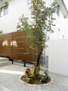 N様邸 | 「らぼっと・わーくす」は京都,滋賀,大阪のエクステリア、ガーデニングを中心に外構・お庭工事のデザイン、設計、施工管理を一貫して行うエクステリア専門店です。