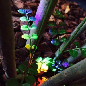 7色の光 | 「らぼっと・わーくす」は京都,滋賀,大阪のエクステリア、ガーデニングを中心に外構・お庭工事のデザイン、設計、施工管理を一貫して行うエクステリア専門店です。