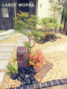 W様邸   「らぼっと・わーくす」は京都,滋賀,大阪のエクステリア、ガーデニングを中心に外構・お庭工事のデザイン、設計、施工管理を一貫して行うエクステリア専門店です。