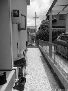 O様邸 | 「らぼっと・わーくす」は京都,滋賀,大阪のエクステリア、ガーデニングを中心に外構・お庭工事のデザイン、設計、施工管理を一貫して行うエクステリア専門店です。