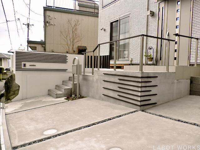 U様邸 | 「らぼっと・わーくす」は京都,滋賀,大阪のエクステリア、ガーデニングを中心に外構・お庭工事のデザイン、設計、施工管理を一貫して行うエクステリア専門店です。