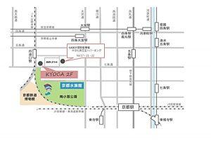 京都 LABOT - lab-t.com - kyocaの地図 -