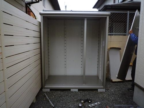 京都 LABOT - lab-t.com - 物置が組み上がる様子って見たことあります?笑 -