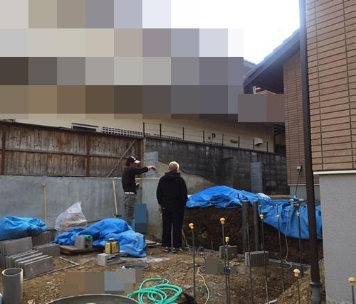 京都 LABOT - lab-t.com - カーポートが付いて、ガレージ部分の完成です -
