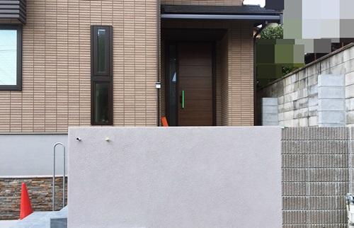 京都 LABOT - lab-t.com - 西京区の門柱工事 -