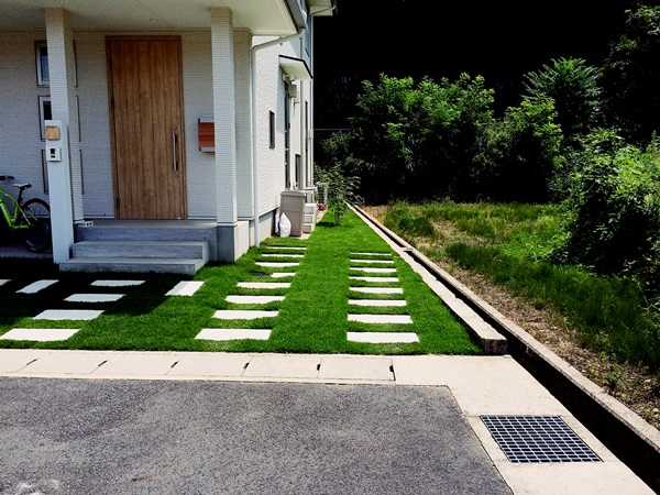 京都 LABOT - lab-t.com - 「無印の家」に似合う外構 -