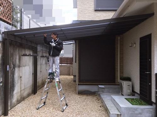京都 LABOT - lab-t.com - ドドーンと大きなテラス屋根 -