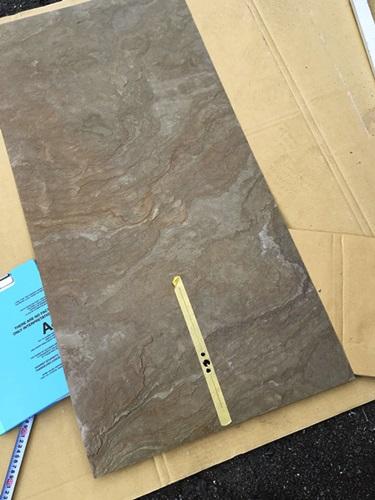 京都 LABOT - lab-t.com - 天然石のシートを貼って高級感を -