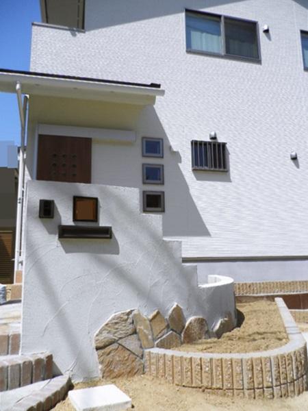 京都 LABOT - lab-t.com - 宇治市の可愛いオープン外構:ナチュラル系 -
