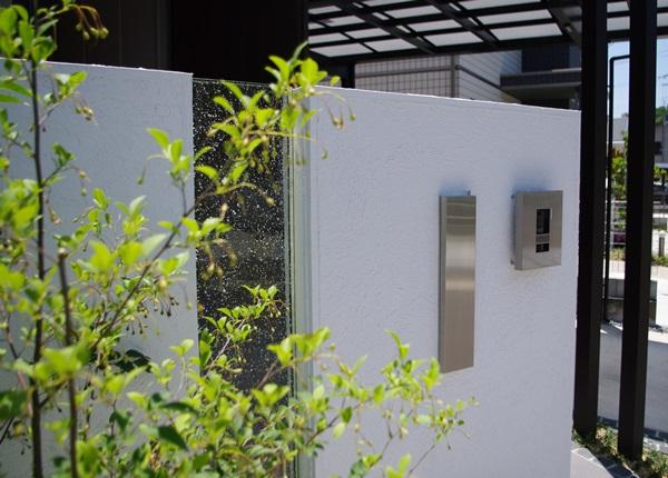 京都 LABOT - lab-t.com - オープン外構のデザイン門柱施工例 -