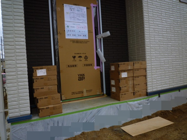 京都 LABOT - lab-t.com - 木津川市の新築外構工事着工です! -