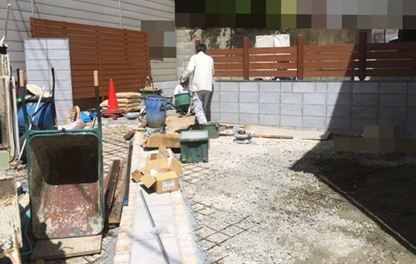 京都 LABOT - lab-t.com - 今週、ガーデンルーム施工予定です -