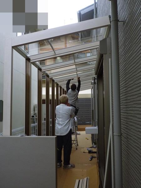 京都 LABOT - lab-t.com - デッキを延長!更にテラス屋根も!@左京区 -