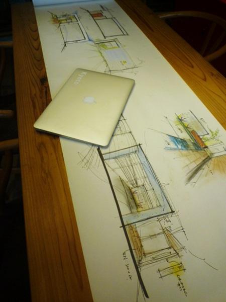 京都 LABOT - lab-t.com - こんな感じのご提案方法でよければその場で描きます -