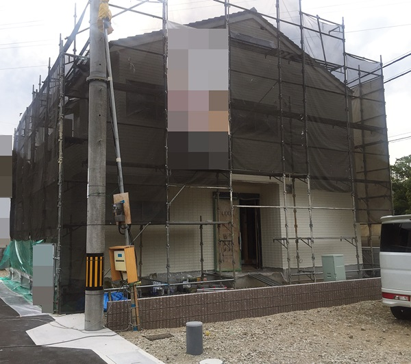 京都 LABOT - lab-t.com - 来月の新築外構工事の着工準備をしています -