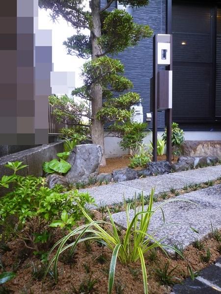 京都 LABOT - lab-t.com - 伏見区の新築外構工事完工しました -