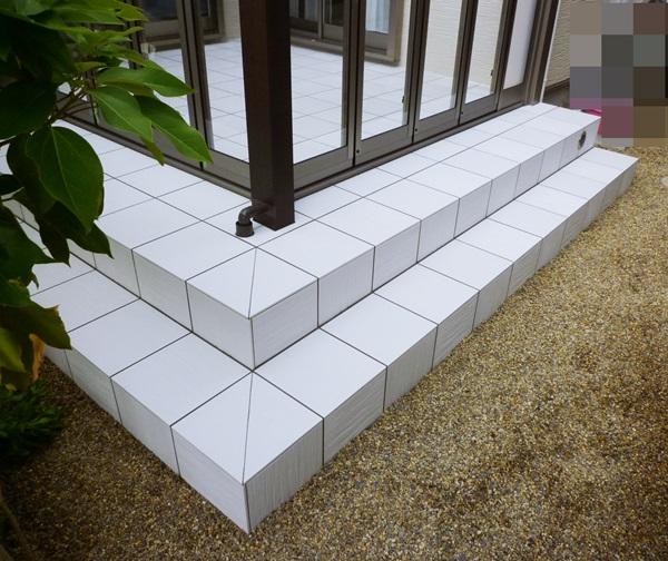京都 LABOT - lab-t.com - 草津市:ガーデンルームZIMAとタイルテラス -