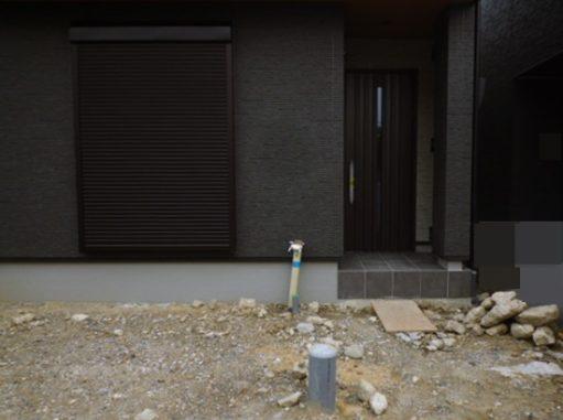 LABOT::これからの新築外構工事着工現場