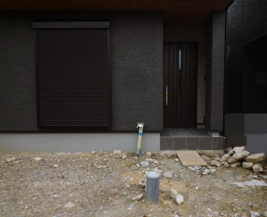 京都 LABOT - lab-t.com - これからの新築外構工事着工現場 -