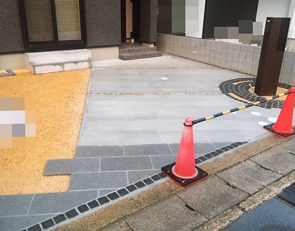 京都 LABOT - lab-t.com - 山科区のオープン外構・・・ゾーニング、見せちゃいます! -
