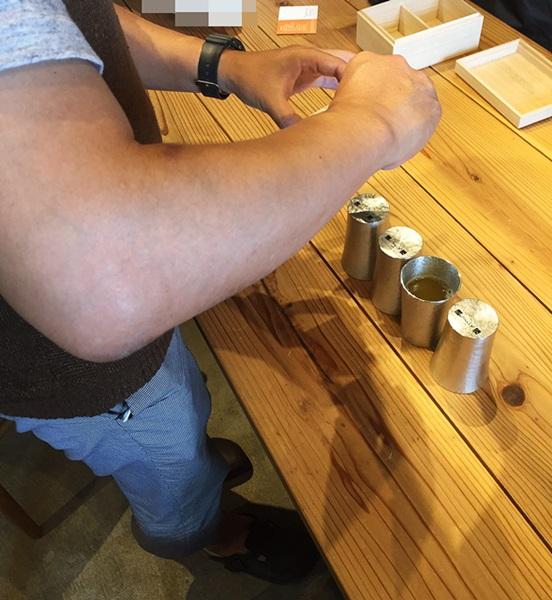 京都 LABOT - lab-t.com - 素敵な錫のグラス、いただきました -
