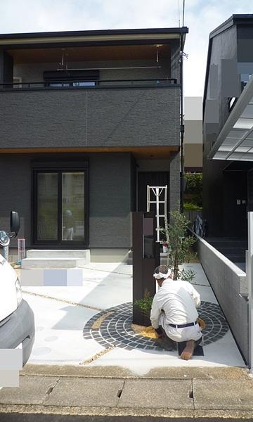 京都 LABOT - lab-t.com - 山科区、新築外構工事お引渡しが終わりました! -