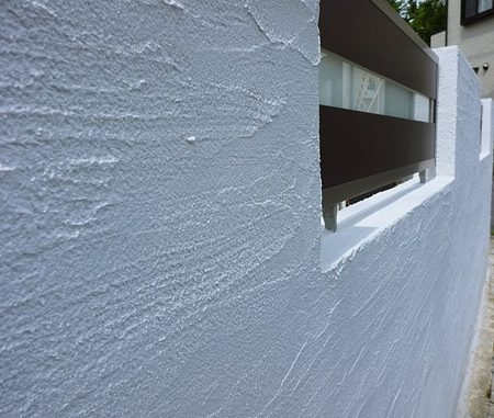 LABOT::半年経った塗り壁