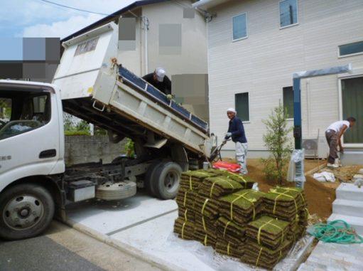 LABOT::精華町の植栽工事