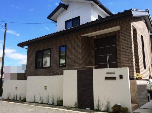 LABOT::一条工務店様で建築の新築外構写真@京田辺市