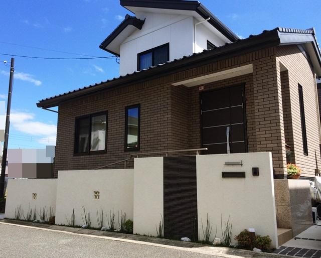 京都 LABOT - lab-t.com - 一条工務店様で建築の新築外構写真@京田辺市 -