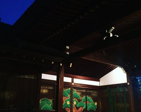 LABOT::伏見稲荷大社、夕暮能