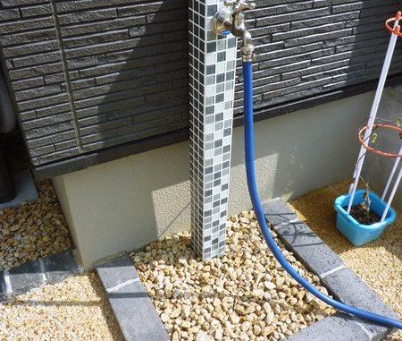 LABOT::この前の立水栓の色違いバージョン、人気商品です!