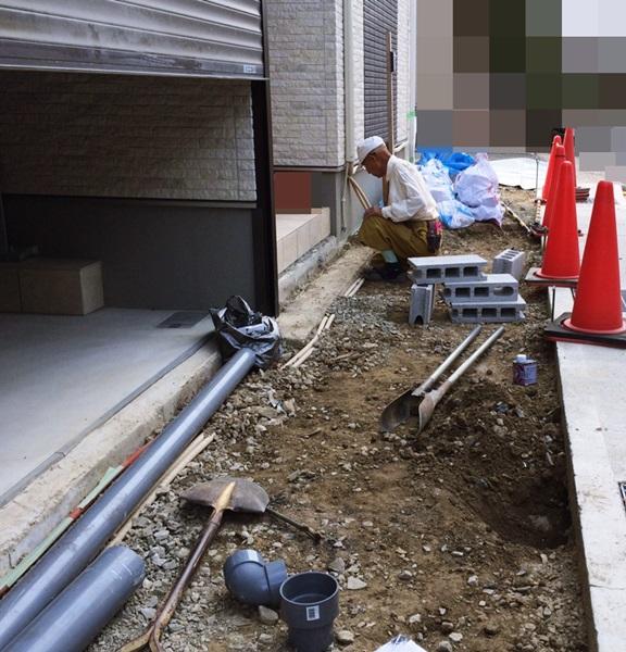 京都 LABOT - lab-t.com - 右京区の新築外構工事、職人さんは山元さんです -