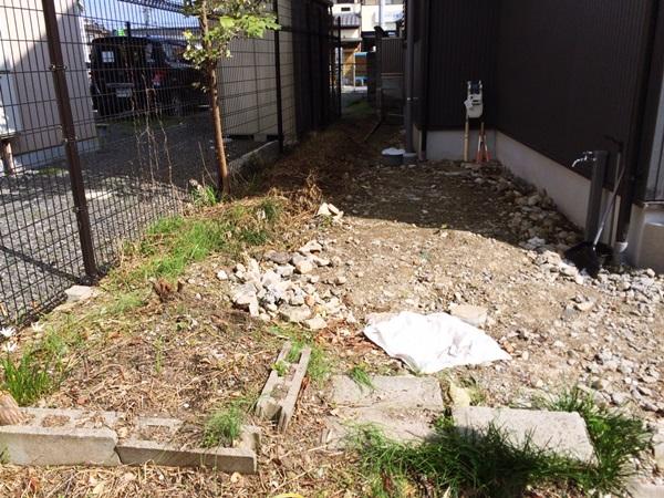 京都 LABOT - lab-t.com - 今週はコンクリート工事@右京区 -