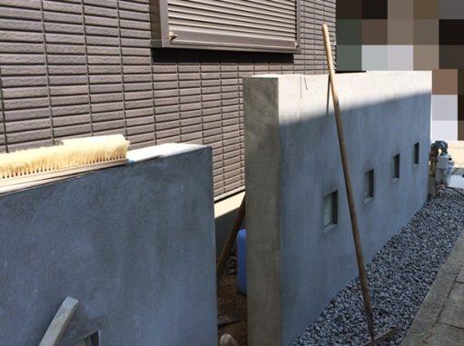 LABOT::右京区の新築外構工事進捗状況