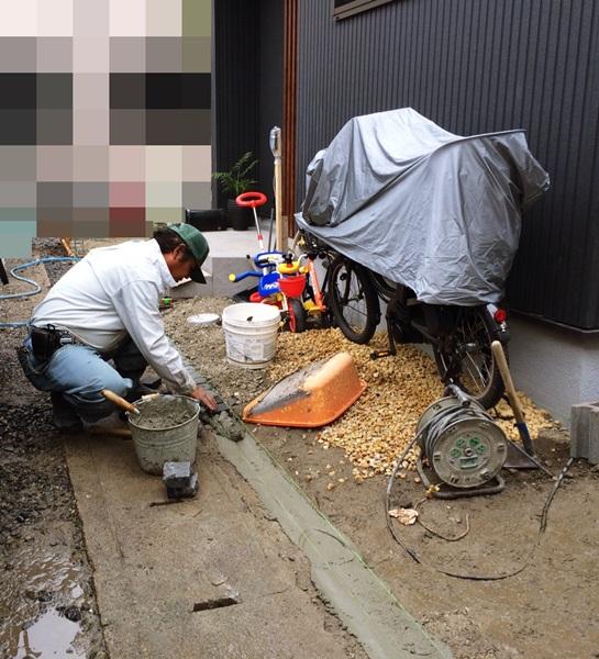 京都 LABOT - lab-t.com - ここのところの雨で現場がドロドロ(泣) -