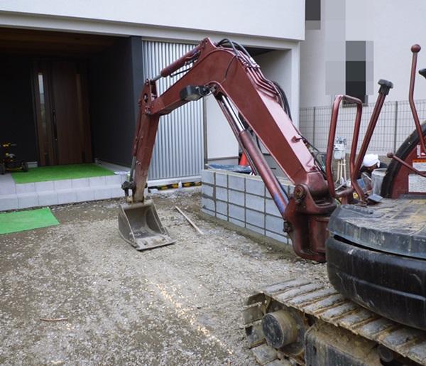 京都 LABOT - lab-t.com - 左京区も新築外構工事、着工しています! -