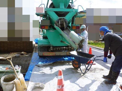 LABOT::左京区の外構工事の様子