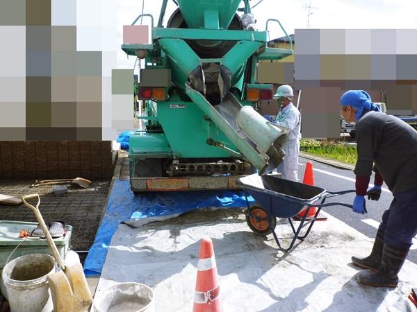 京都 LABOT - lab-t.com - 左京区の外構工事の様子 -