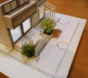 京都 LABOT - lab-t.com - 宇治市:お庭工事のご提案模型 -