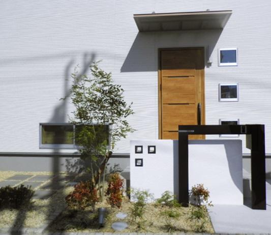京都 LABOT - lab-t.com - お引渡しから約2年。植栽の様子。 -