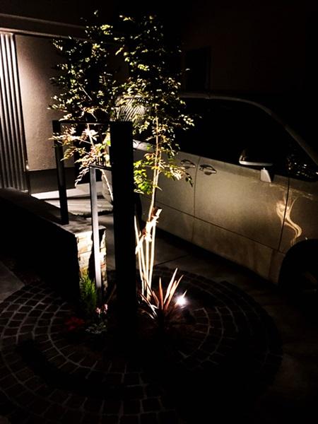 京都 LABOT - lab-t.com - ライトアップ施工例@左京区 -
