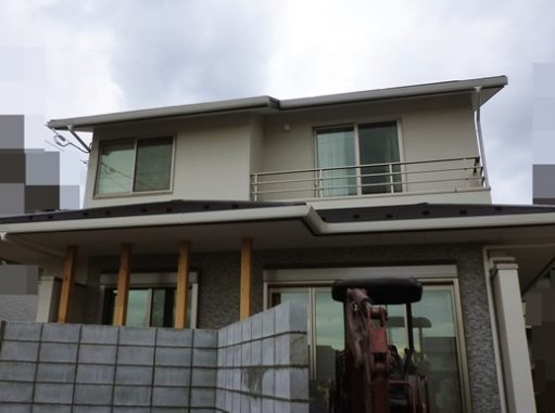 LABOT::左京区で施工中の新築外構工事