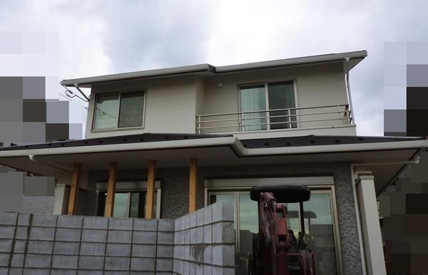 京都 LABOT - lab-t.com - 左京区で施工中の新築外構工事 -
