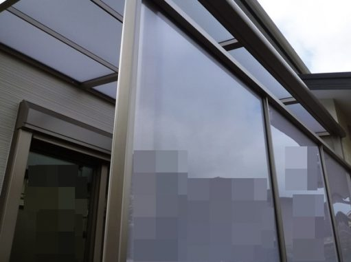 LABOT::テラス屋根&目隠しパネル施工完了@左京区