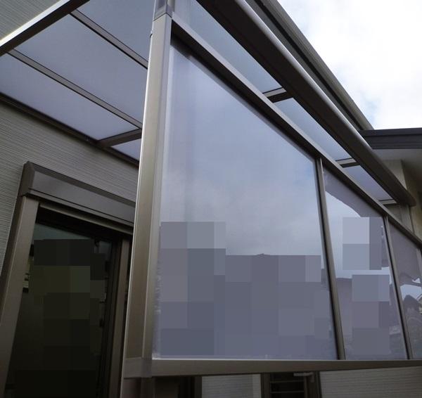 京都 LABOT - lab-t.com - テラス屋根&目隠しパネル施工完了@左京区 -
