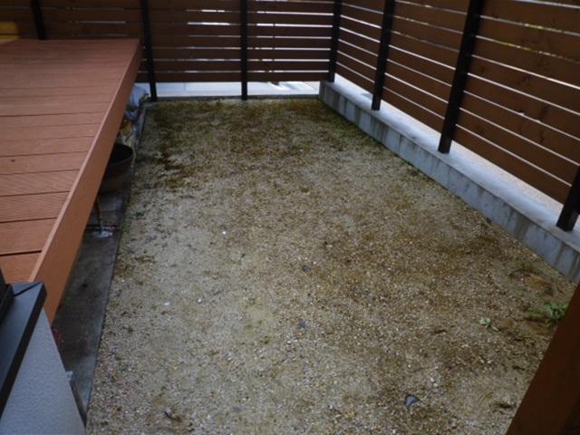 京都 LABOT - lab-t.com - 昨日の植栽工事と人工芝貼り、完成しました! -