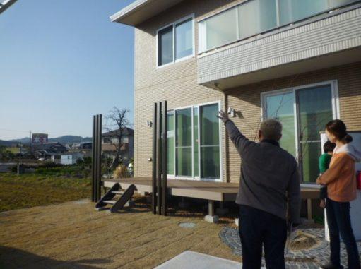 LABOT::亀岡市のお客様宅へ。