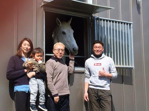 LABOT::乗馬クラブを経営、そして競技者でもあるお客様